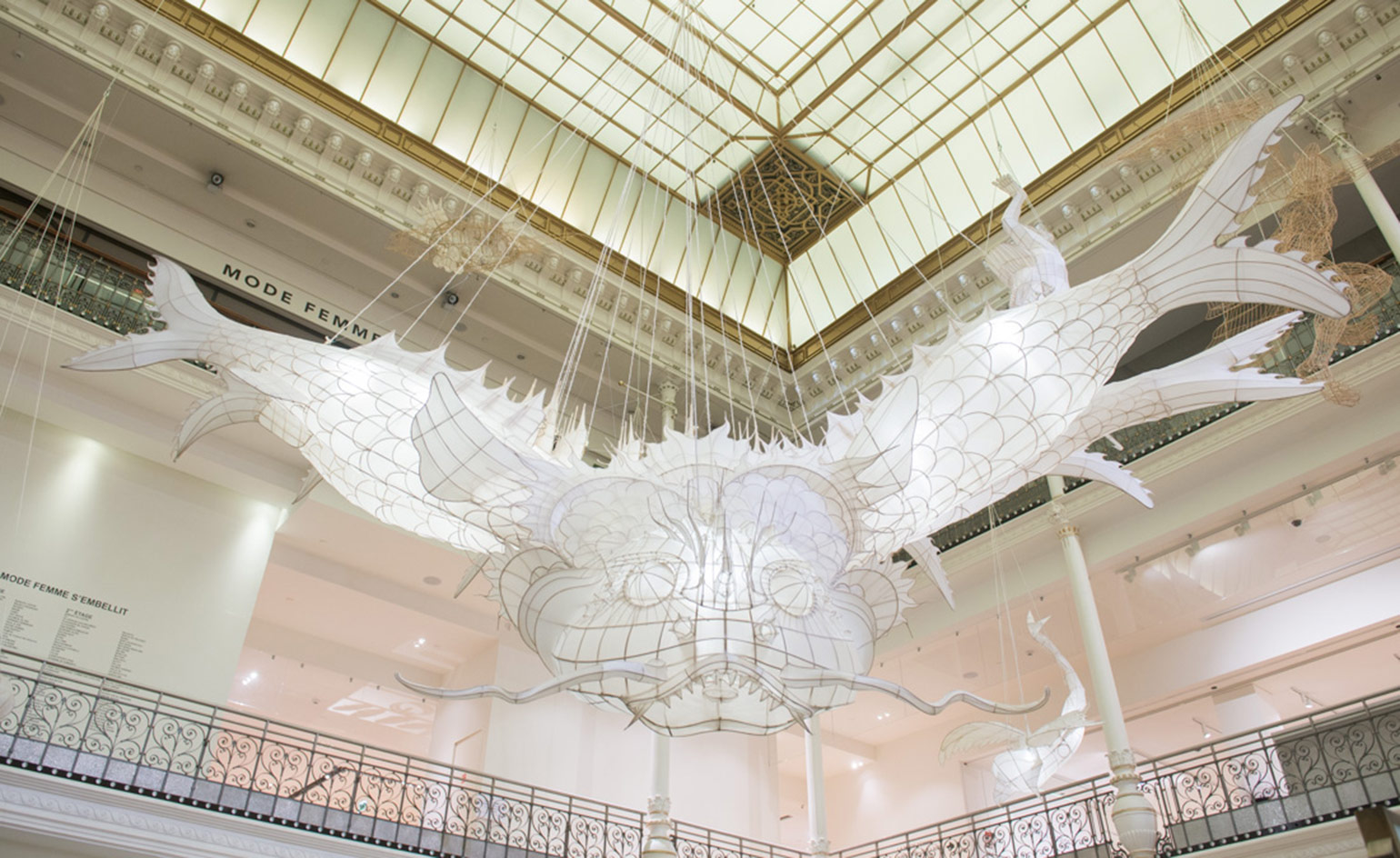 Ai Weiwei At Le Bon March Paris Wallpaper