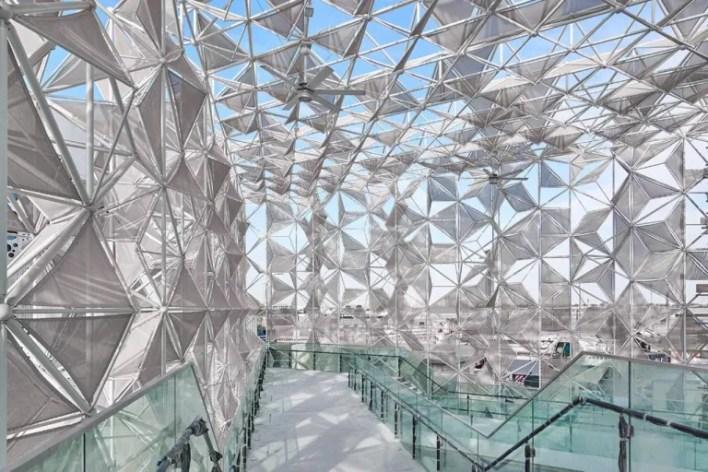 Japanese pavilion at Dubai expo