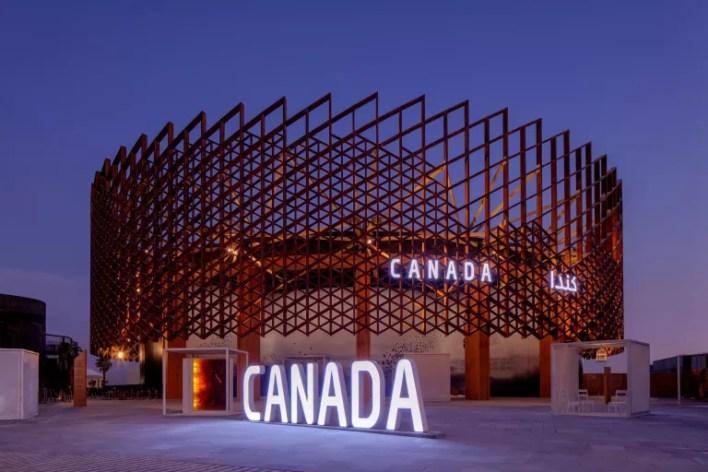 Canadian pavilion at Dubai expo