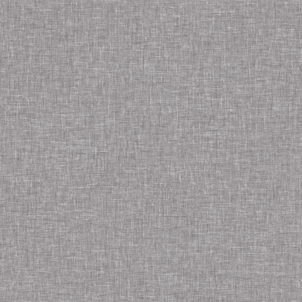 Linen Texture By Arthouse Mid Grey Wallpaper Direct