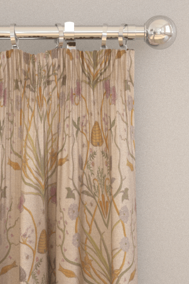 Potagerie By The Chateau By Angel Strawbridge Linen Fabric Wallpaper Direct
