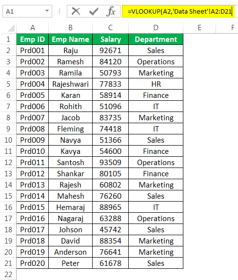 Vlookup From Another Sheet Or Workbook Step By Step Examples