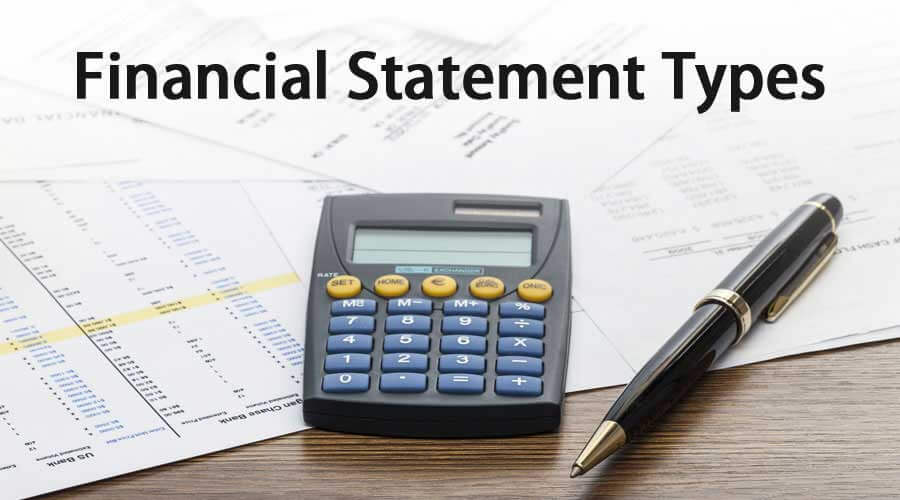 Types Of Financial Statements Step By Step Explanation