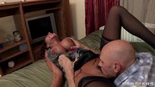 Ariella Ferrera with big boobs licked by Johnny Sins thumb