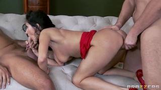 Strong Keiran Lee and Manuel Ferrara fuck the horny Ava Addams thumb