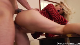 MILF hottie Julia Ann takes dick with style thumb