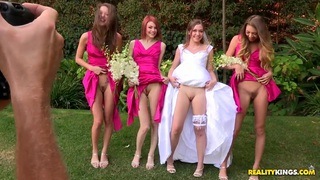 Sweet porno wedding with Aurielle and her palsies thumb