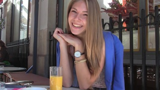 Anjelica in hot homemade video showing a cute in-love couple thumb