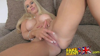 FakeAgentUK South African babe put through paces thumb