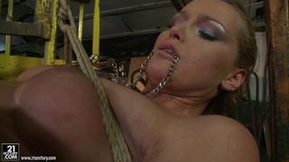 Kathia Nobili and_Mandy Bright body tying with rope thumb