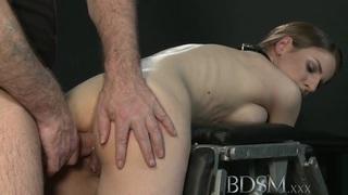 BDSM XXX Big breasted sub_gets hard anal thumb