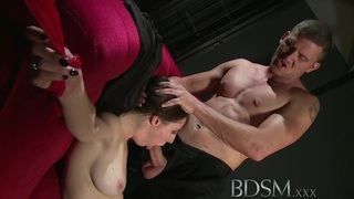 BDSM XXX Beautiful sex hungry sub has her tight hole thumb