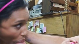 Brunette Slut Banged On Desk In Back Office At Pawn Shop thumb