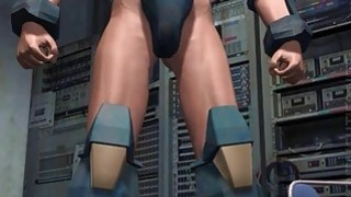 Hottie 3D anime babe suck tentacles thumb