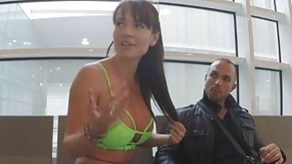 Franceska got fucked anal at the airport parking lot thumb