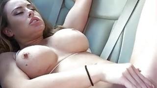 Big tits Corinna Blake banged in the car thumb