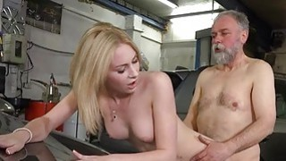 Old fucker enjoys sex with_juvenile sweetheart thumb