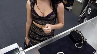 Babe trying to sell a ring turns to hard fuck with pawn guy thumb