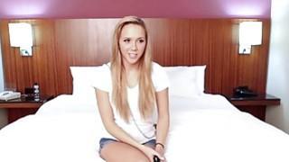 Petite hairy_pussy blonde teen Hollie Mack_fucked on camera thumb