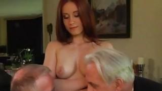 Free old men having sex with young girls Minnie Manga licks breakfast thumb
