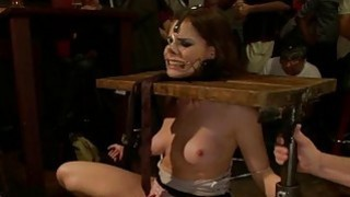 Salacious and untamed cunt drilling for whore thumb