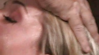 Facefucked Bound Teen Chokes and Sputters! thumb