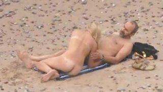 Voyeuring beach sex of my Niece thumb