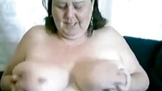 Super busty granny Jane Live on webcam thumb