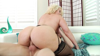 Filthy mom loves taking cock in her ass thumb
