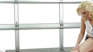 Sexy Tiffany Watson gives_hot Stella Cox full body oil massage thumb