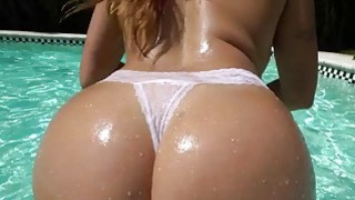 Big Ass Julianna Vega fucked by the pool thumb