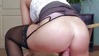 Bill Bailey fucks her boss in the anal thumb