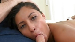 Horny babe rides on dudes penis for his cumshot thumb