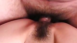 Astonishing bruette Asian slut getting her wet pus thumb