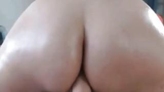 Big Round Ass SexToy Riding thumb