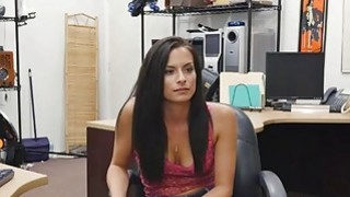 Alexis Deen is desperate for cash and fucks a horny pawn guy thumb