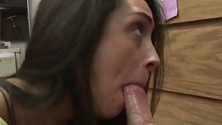 Lilly Hall sucking horny cock for cash thumb