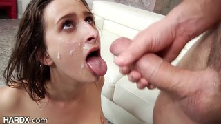 Ashley Adams anal fucked and facialized thumb