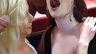 Slutty Euro Babes Gets Golden Shower And_Suck Cocks thumb