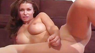 Bushy vagina in_transparent tights thumb