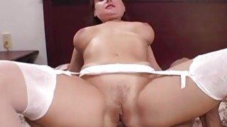 Amber Moon Sucks A Big Black Cock thumb