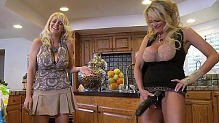 Housewife strap-on session thumb