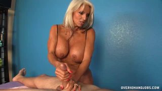 Milf  Offers Cock Massage Extra To Her Massage thumb