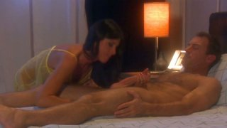 India Summer is giving a hot blowjob and gets her pussy fingered thumb