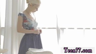 Girl teens guys Mirta gets a sensual massage thumb
