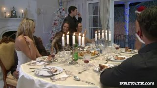 Aleska Diamond, Britney, Claudia Rossi, Angelica Heart, Mandy Bright and_Yoanna Sweet in group orgy thumb