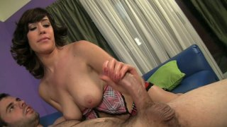 Sasha Sweet gets her natural tits fucked by Ralph Long thumb