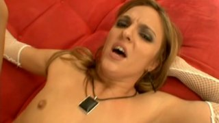 Saucy bitch Lexi Love gets her asshole stretched hard thumb