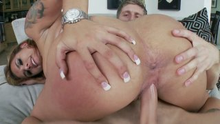 Bonny well stacked whore Anita Toro in her hardcore quickie thumb
