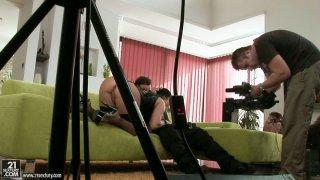 Porn making process with_Bettina Dicapri thumb